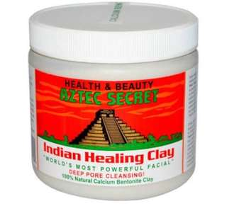 Aztec indian healing clay share in jar 100g