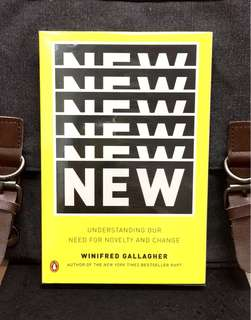 # Highly Recommended《New Book Condition + How To Help Us Learn, Create, And Adapt To New Things To Have Real Value & Dismiss Distractions.》Winifred Gallagher - NEW : Understanding Our Need for Novelty and Change