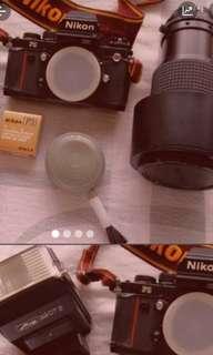 停產Nikon F3 菲林相機