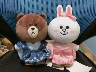 Line Friends 日本櫻花版🌸熊大兔兔