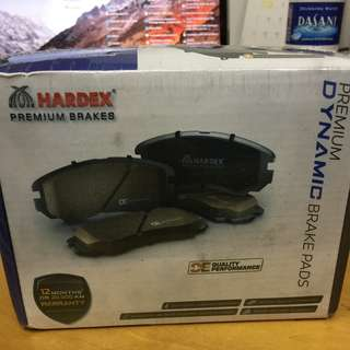 HARDEX Premium Dynamic Brake Pads for Honda Vezel