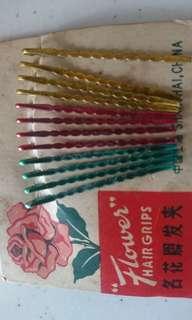 Vintage Shanghai hair clips