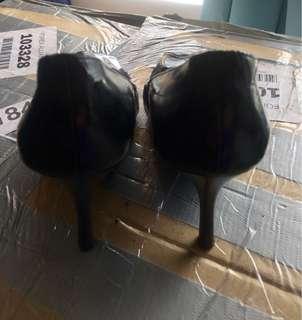 Heatwave Black Stiletto Shoes