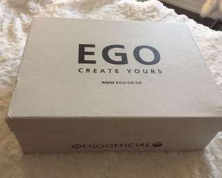 EGO denim thigh highs