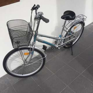 "Sportive 24"" Lady Aluminium Bicycle With Shimano Gear"