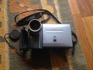 Sharp VL-E98 view cam faulty