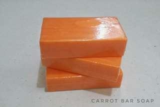 100g CARROT BAR SOAP
