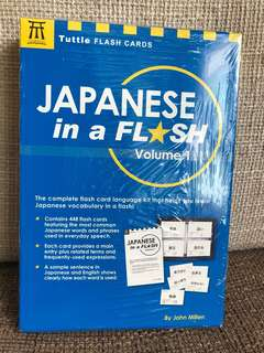 Japanese in a Flash - Volume 1 (Flash Cards)