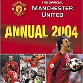 The Official Manchester United Annual 2004
