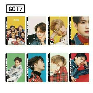 PREORDER | GOT7 Eyes On You Members Lomo