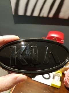 Kia car logo (gloss blsck )