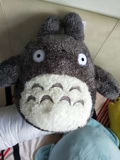 Totoro doll (Quite big to hug it)