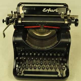 1936年 德國製 ERFURT 打字機