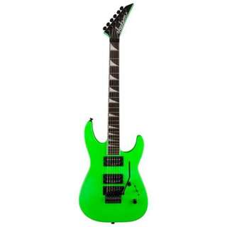 Jackson Soloist SLX Electric Guitar, Rosewood FB, Slime Green