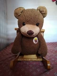 teddy bear rocking toy