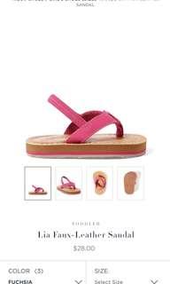 Ralph lauren leather sandal US 5