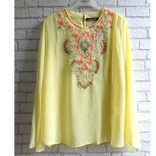 [NEW] Blouse Muslim Kuning Mission72