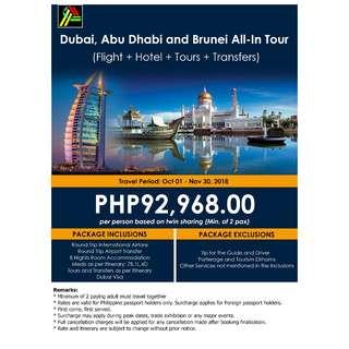 Dubai, Abu Dhabi and Brunei All-In Tour