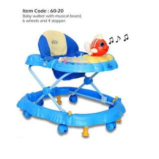 Baby Walker (8 rollers, 4 Stoppers)