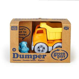 Green Toys Dumper Truck Vehicle