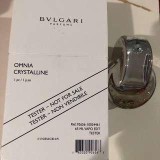 Bvlgari Omnia crystalline 65ml tester