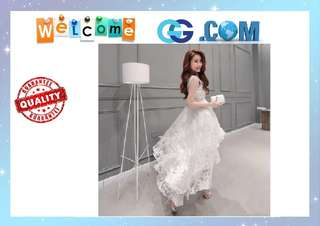 【Pre-Order】Formal Prom Cocktail Party Ball Gown Evening Bridesmaid Irregular Dress Wedding