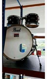 Pearl Drum Set (+/+ symball) EX-725 SP-WR kredit jakarta