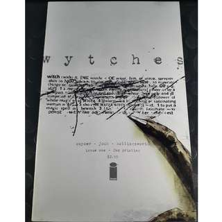 Wytches #1 2nd Printing - Scott Snyder & Jock