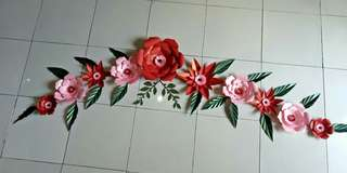 PaperFlower termurah !!!135K dapat 28 pieces