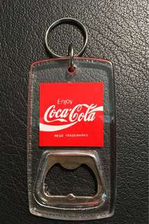 Coke Cola Bottle Opener Keychain