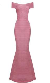 Herve leger bandage maxi dress