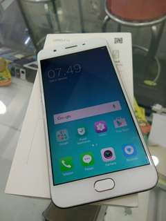 Oppo F1S Ram 3/32gb rose gold fulset normal jaya