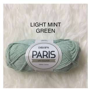 Drops Paris - Light Mint Green (21)