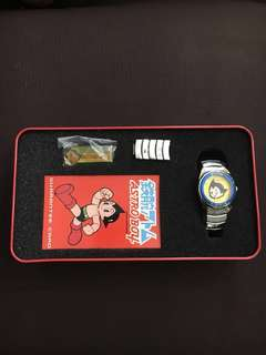 Astroboy Astro boy Analog collectible Vintage Watch by Tetsuka Productions