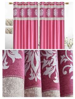 In stock... Heavy long crush curtains