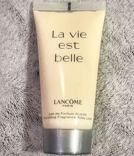 La Vie Est Belle LANCOME Body Lotion 50ml *Preloved* (From Paris, France 🇫🇷)
