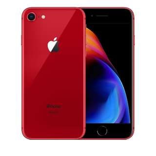 New IPhone 8 64GB Red Edition