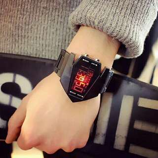 Korea ulzzang led watch
