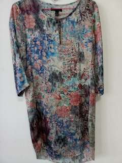 MNG Collection silky dress