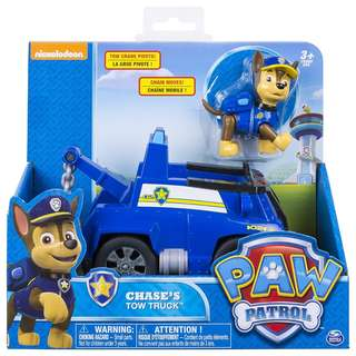 BN Paw Patrol - Chase's Tow Truck - Figure and Vehicle