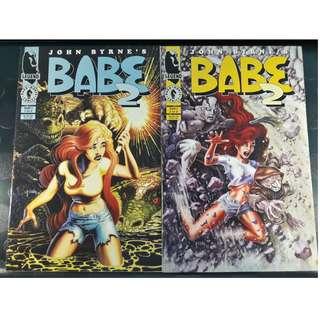 John Byrne's Babe 2 #1 & #2 (Complete)