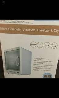 Chickabiddy UV sterilizer and dryer
