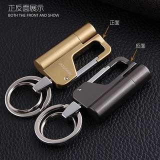 Carabiner Keychain Oil Lighter/Fire Starter