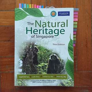 SSS1207/ GES1021 The Natural Heritage Of Singapore