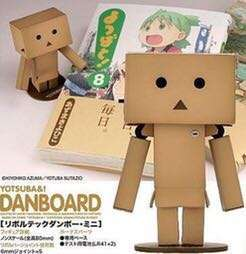 Revoltech Danboard Yotsuba&!【日版】山口式 紙箱人 四葉妹妹   @KAZOEshop