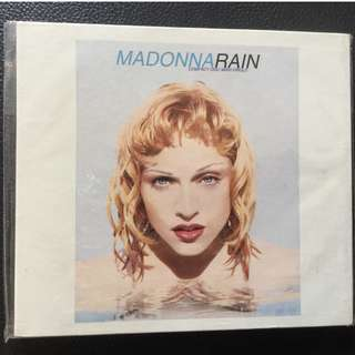 Madonna Rain Single CD