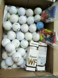 Golf balls 72pcs.