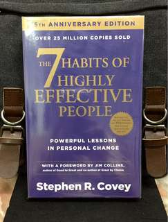 #  Highly Recommended《Bran-New + 25th Anniversary Edition + Must-Read Timeless And Classic Self-Help Book For Personal Change》Stephen R. Covey - THE 7 HABITS OF HIGHLY EFFECTIVE PEOPLE : Powerful Lessons In Personal Change