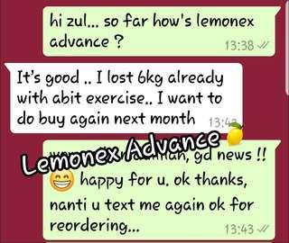 Lemonex Advance 💯Authentic Direct fr HQ