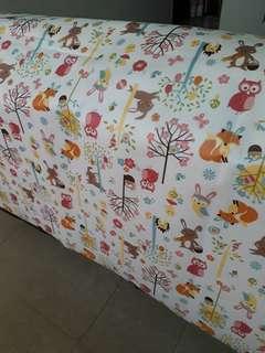 Vinyl table cloth 2m